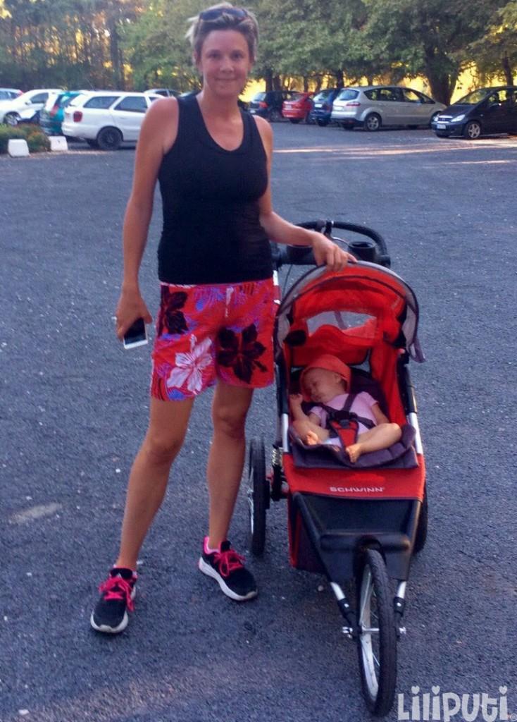 Ócsai Dorka - szülés után sportolás