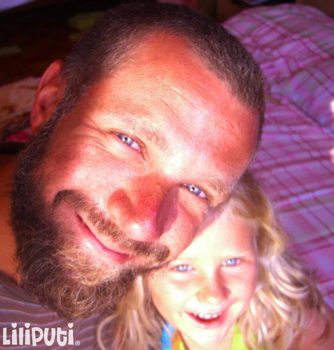 Farnadi Péter és lánya