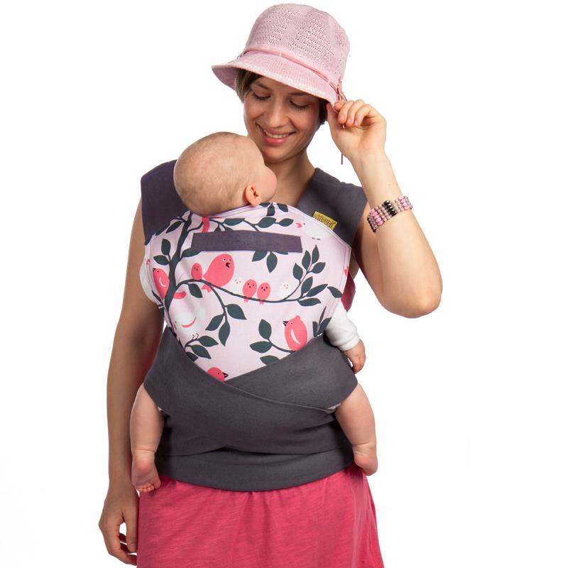 5bfc349d9e Kötődő nevelés - A hordozott babák sokkal nyitottabbak, nyugodtabbak ...