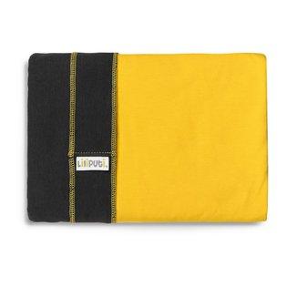 Liliputi® Rugalmas Hordozókendő - Duo line - Graphit-Sunshine
