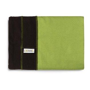 Liliputi® Rugalmas Hordozókendő - Duo line - Hazel-Green