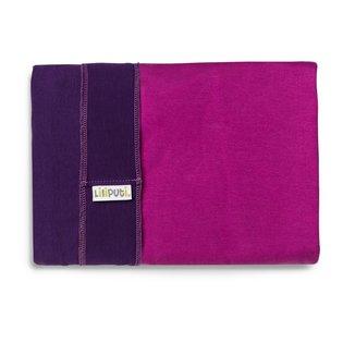 Liliputi® Rugalmas Hordozókendő - Duo line - Purple-Fuchsia
