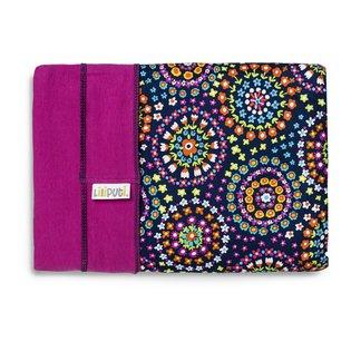 Liliputi® Rugalmas Hordozókendő - Rainbow line - Mandala Bloom