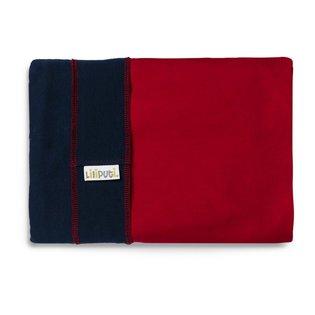 Liliputi® Rugalmas Hordozókendő - Duo line - Navy-Red