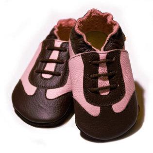 Liliputi® Puhatalpú Sportcipő  - Barna-rózsa