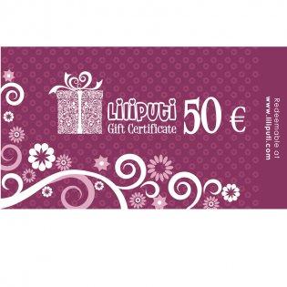 Gift Voucher 50 € -